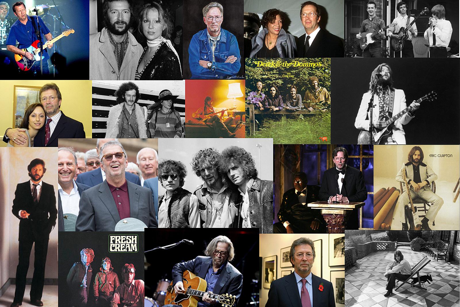 Eric Clapton Through the Years: 1964-2018 Photos