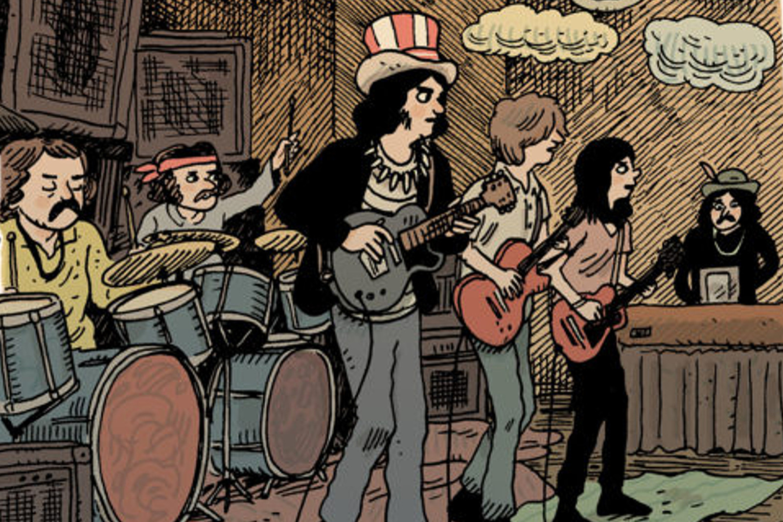 Grateful Dead Comic Book to Be Released