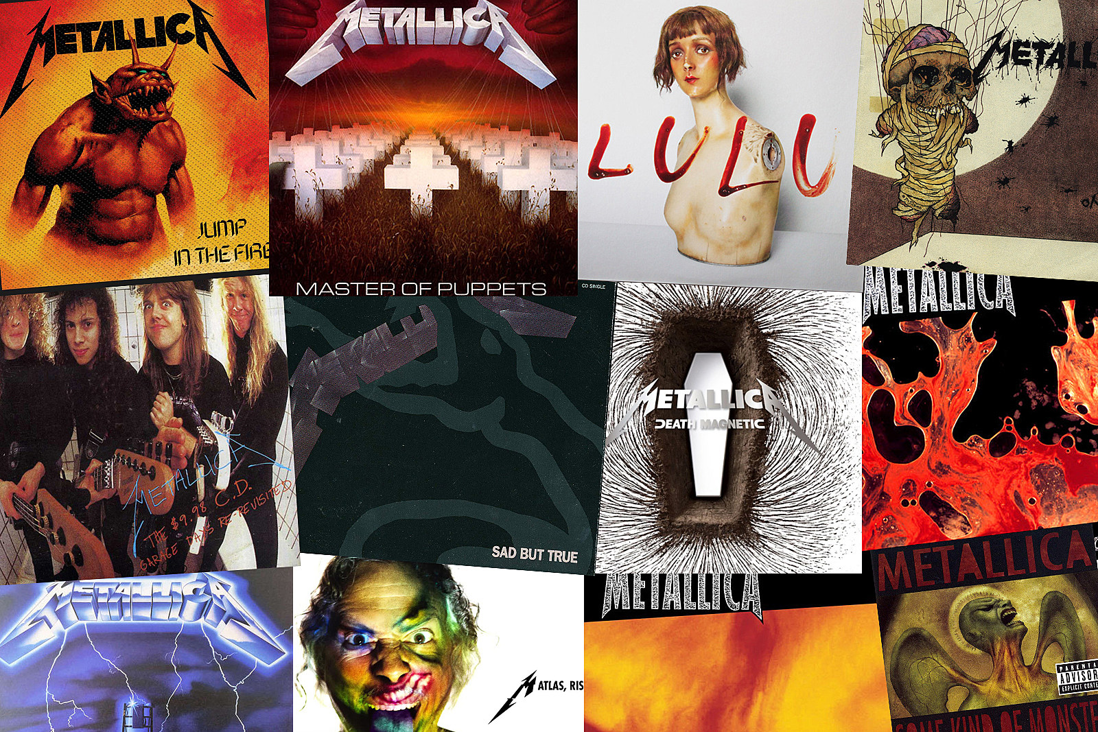 The Best Song From Every Metallica Album