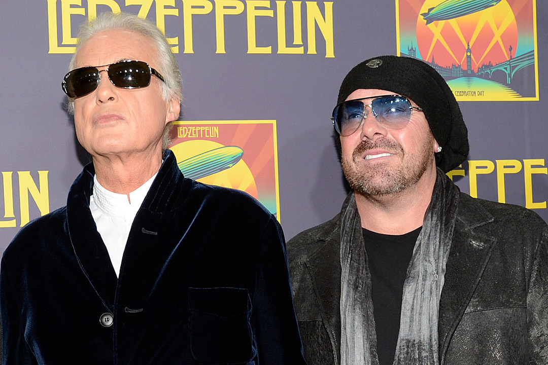 Jason Bonham Says Jimmy Page Gave Him Cocaine When He Was 16