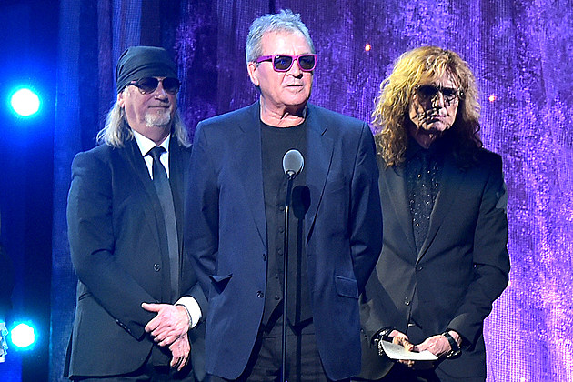 Deep Purple Hall of Fame induction