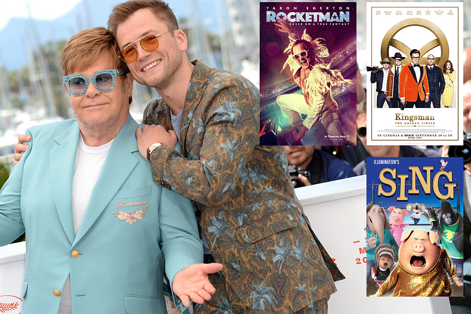 The Two Films Elton John and Taron Egerton Did Before 'Rocketman'