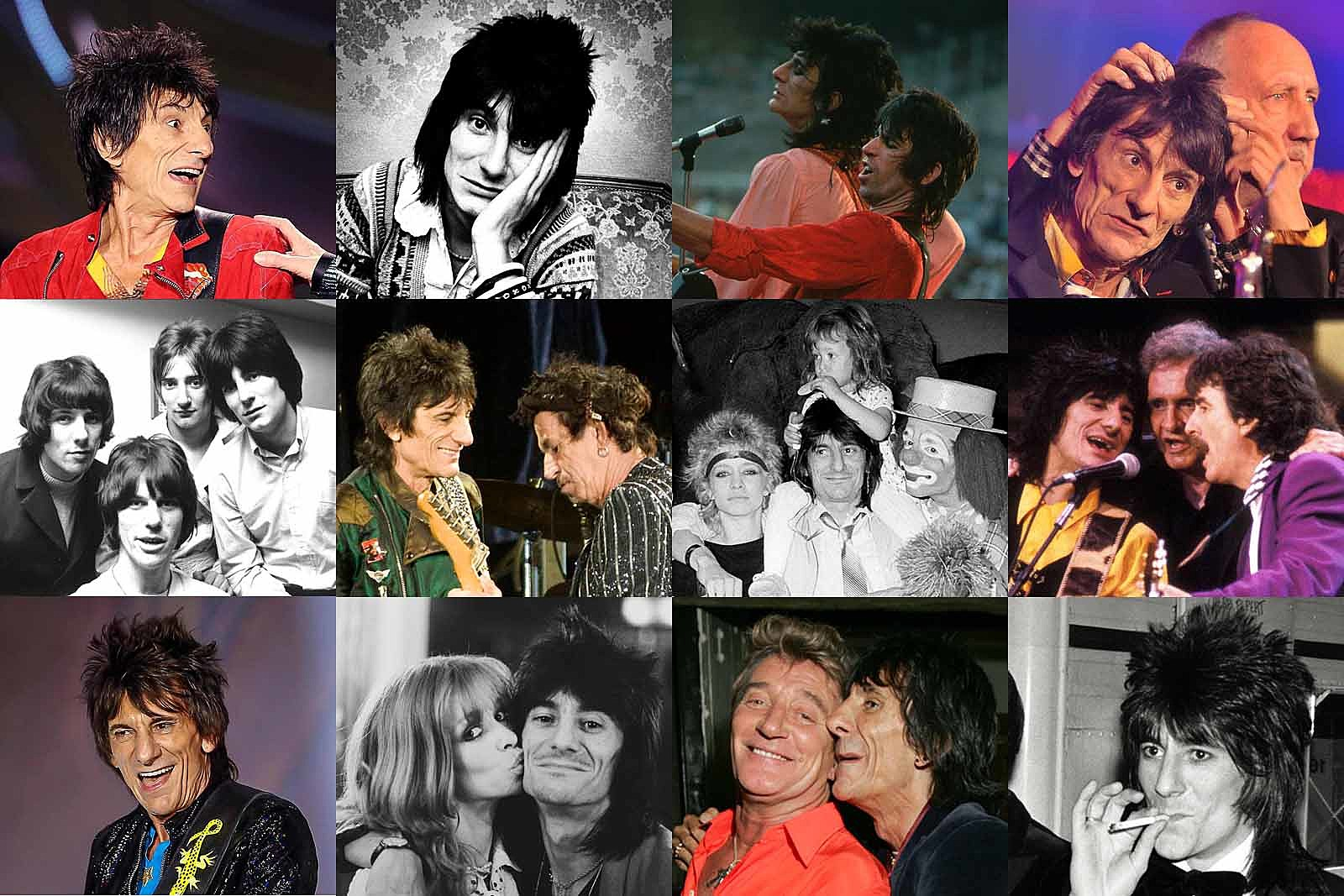 Ron Wood Year by Year: 1967-2019 Photos