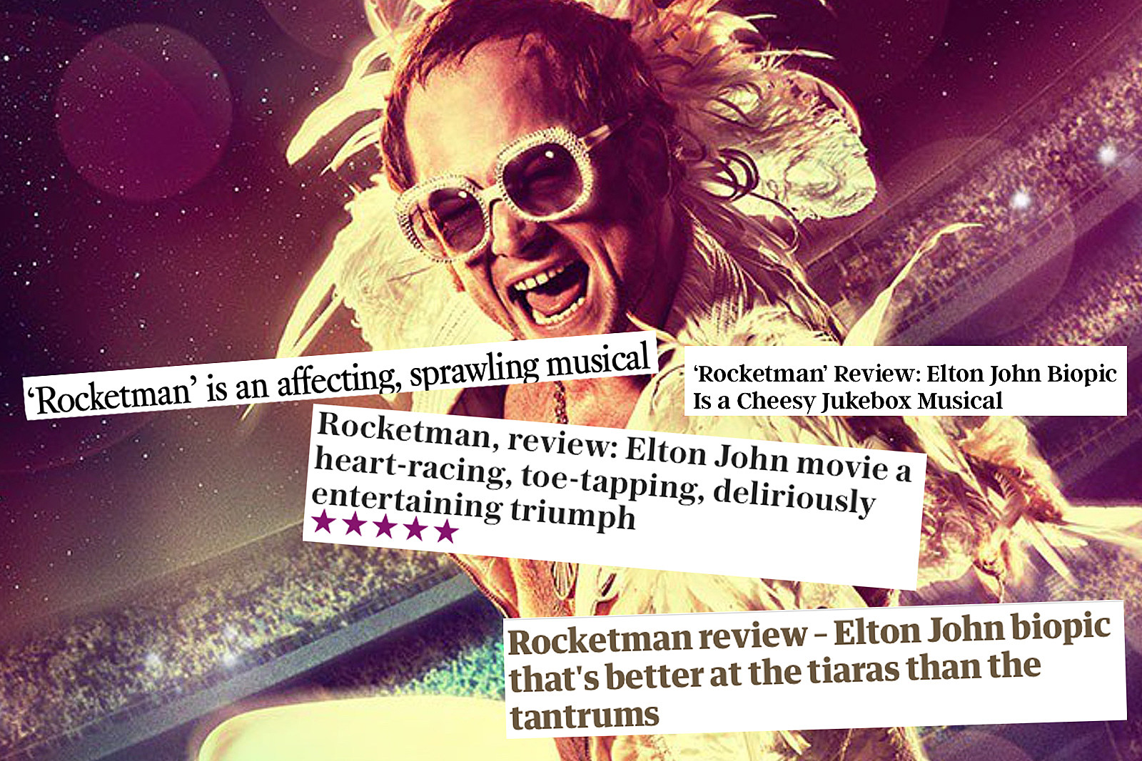 Elton John Adds His Own Rave to First Reviews for 'Rocketman'
