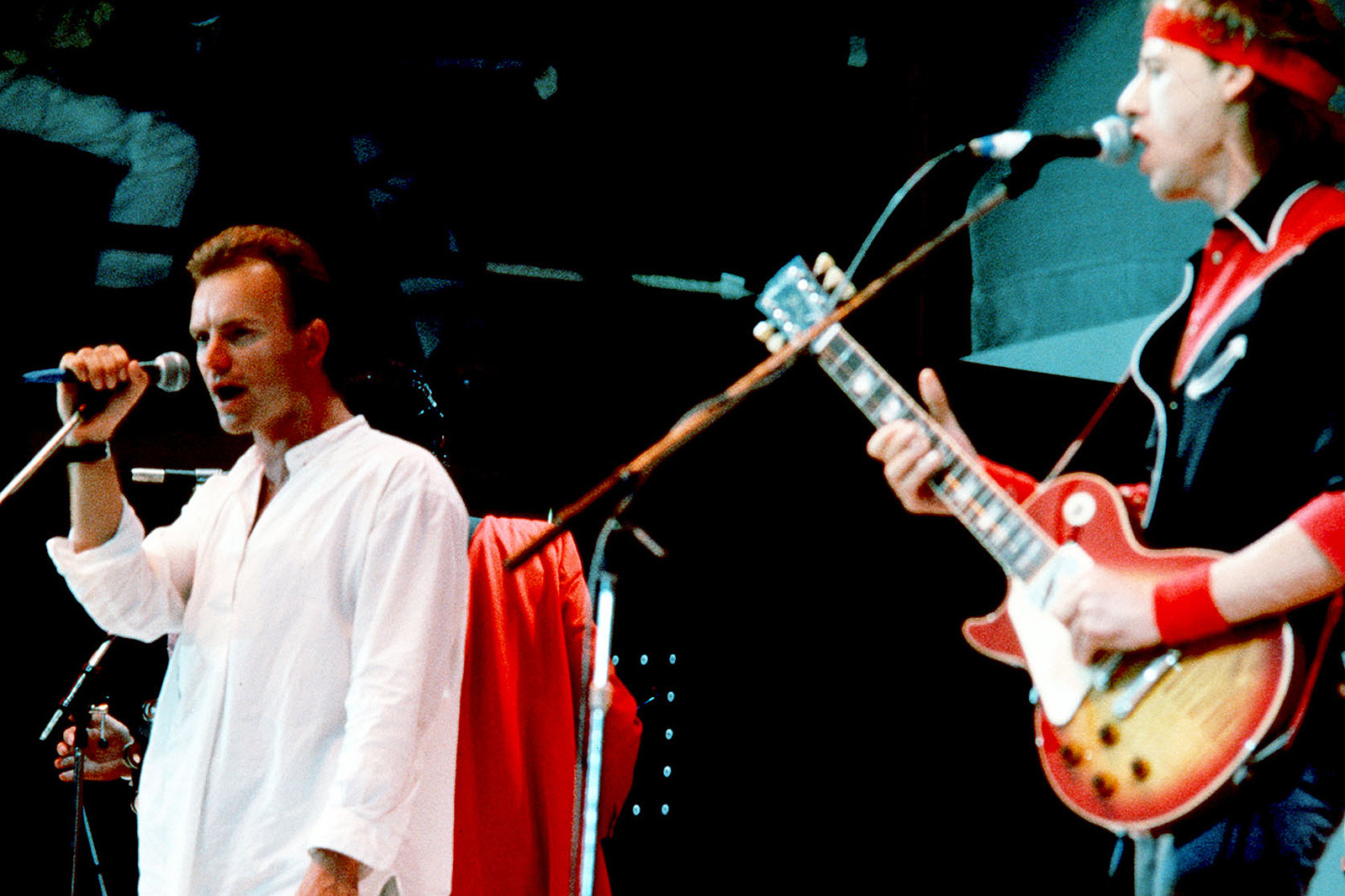 When Mark Knopfler and Sting Connected for 'Money for Nothing'