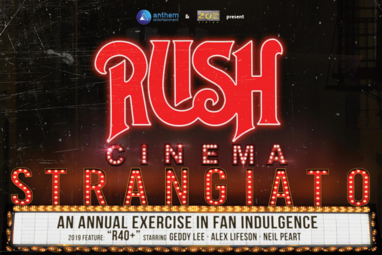 Watch Trailer for Rush's New 'Cinema Strangiato' Movie