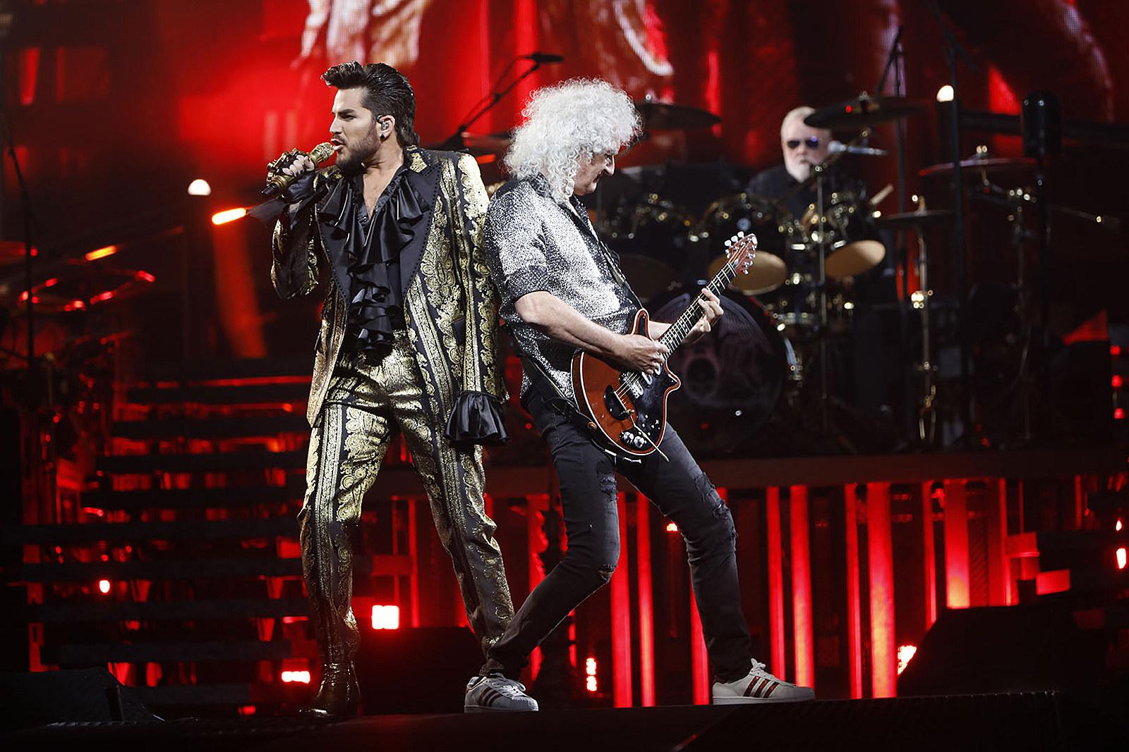 Queen + Adam Lambert Celebrate Brian May's Birthday at the Forum: Photo Gallery