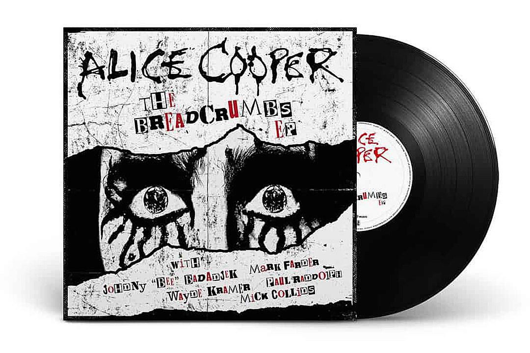 Alice Cooper to Release 'Breadcrumbs' EP