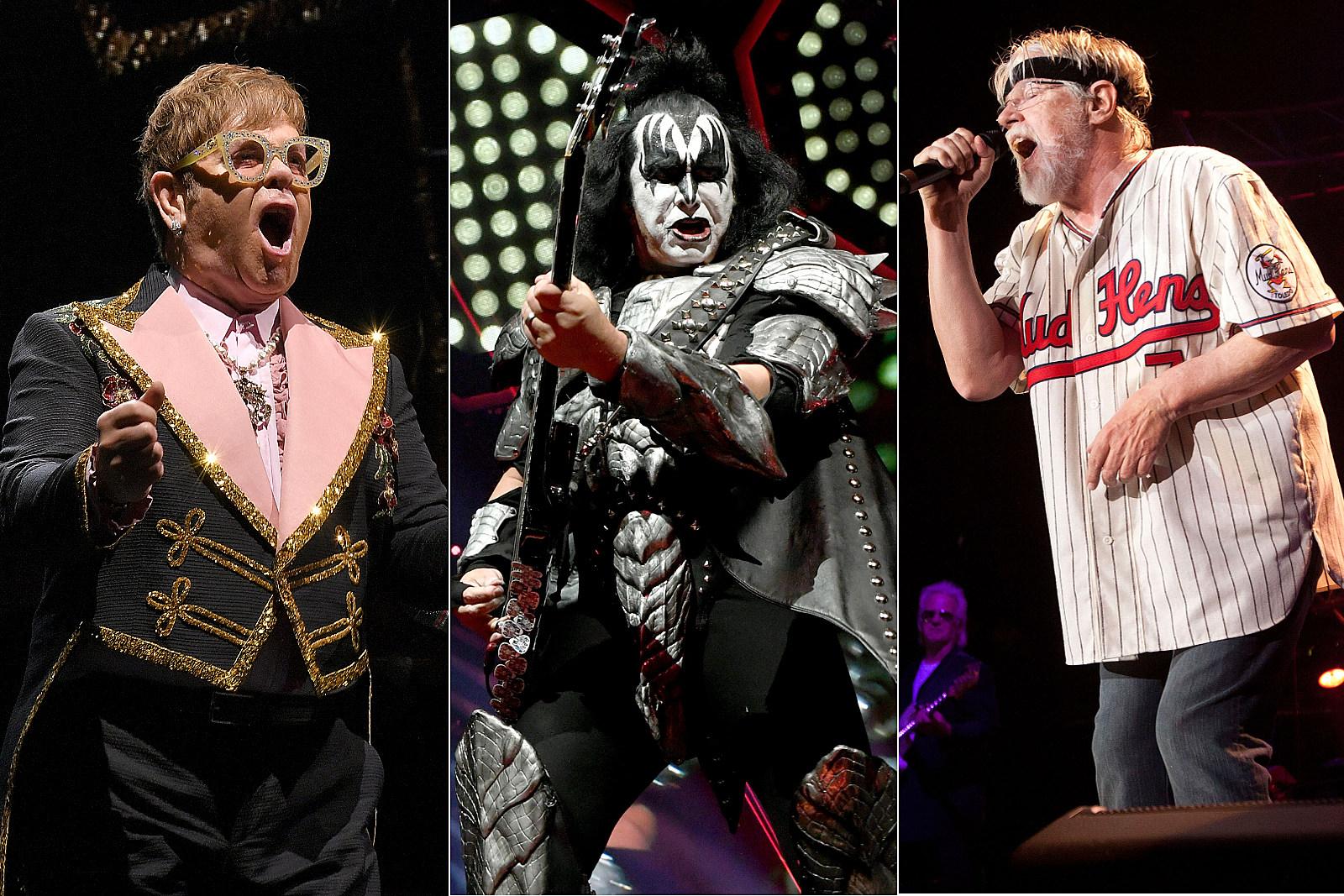 Elton John, Kiss, Bob Seger Among 2019's Most Lucrative Tours