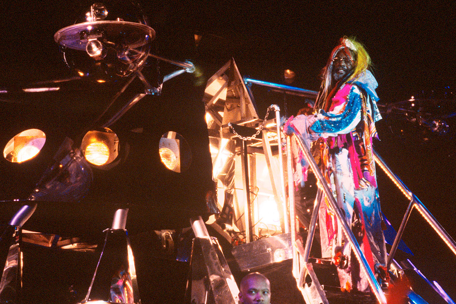 George Clinton Recalls Moon Landing: 'We Was Up There, We Was Waiting on Them!'