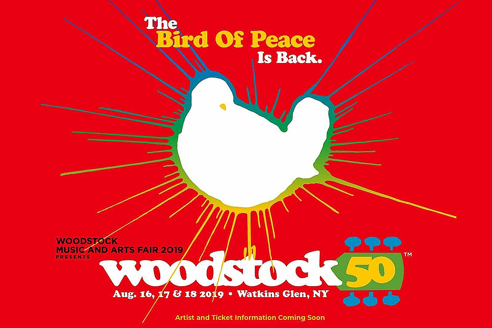 Woodstock 50 Rescued, New Location Named
