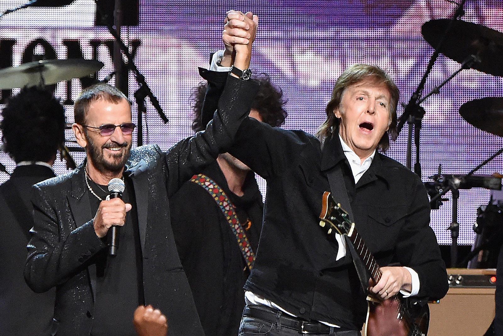 Watch Ringo Starr Guest on Paul McCartney's U.S. Tour Finale