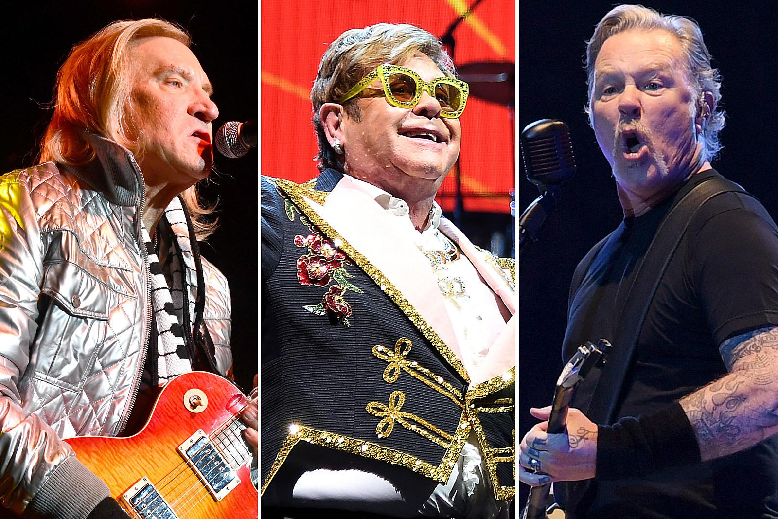 Eagles, Elton John, Metallica Lead Forbes' Top Rock Earners