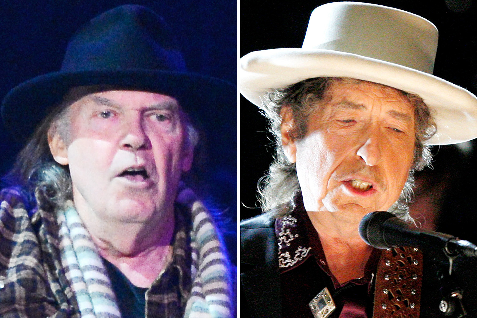 Watch Neil Young and Bob Dylan Duet for First Time Since 1994