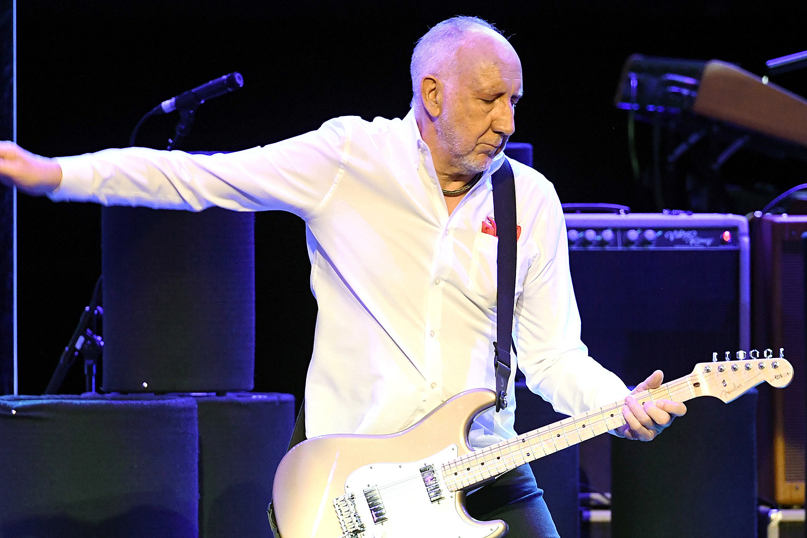 Pete Townshend Calls the Who's New Tour a 'Big Move On': Exclusive Video