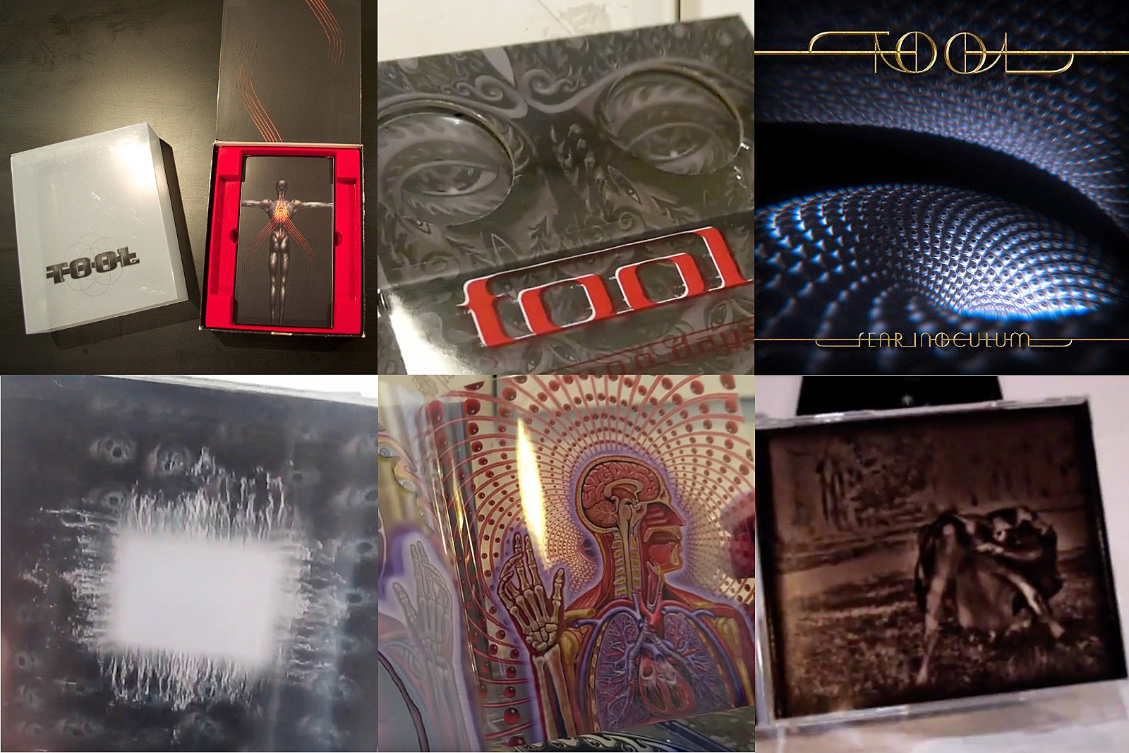 A History of Tool's Elaborate Album Packaging