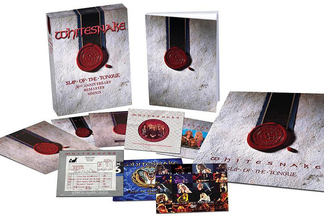 Whitesnake Announce 'Slip of the Tongue' 30th Anniversary Edition Box Set