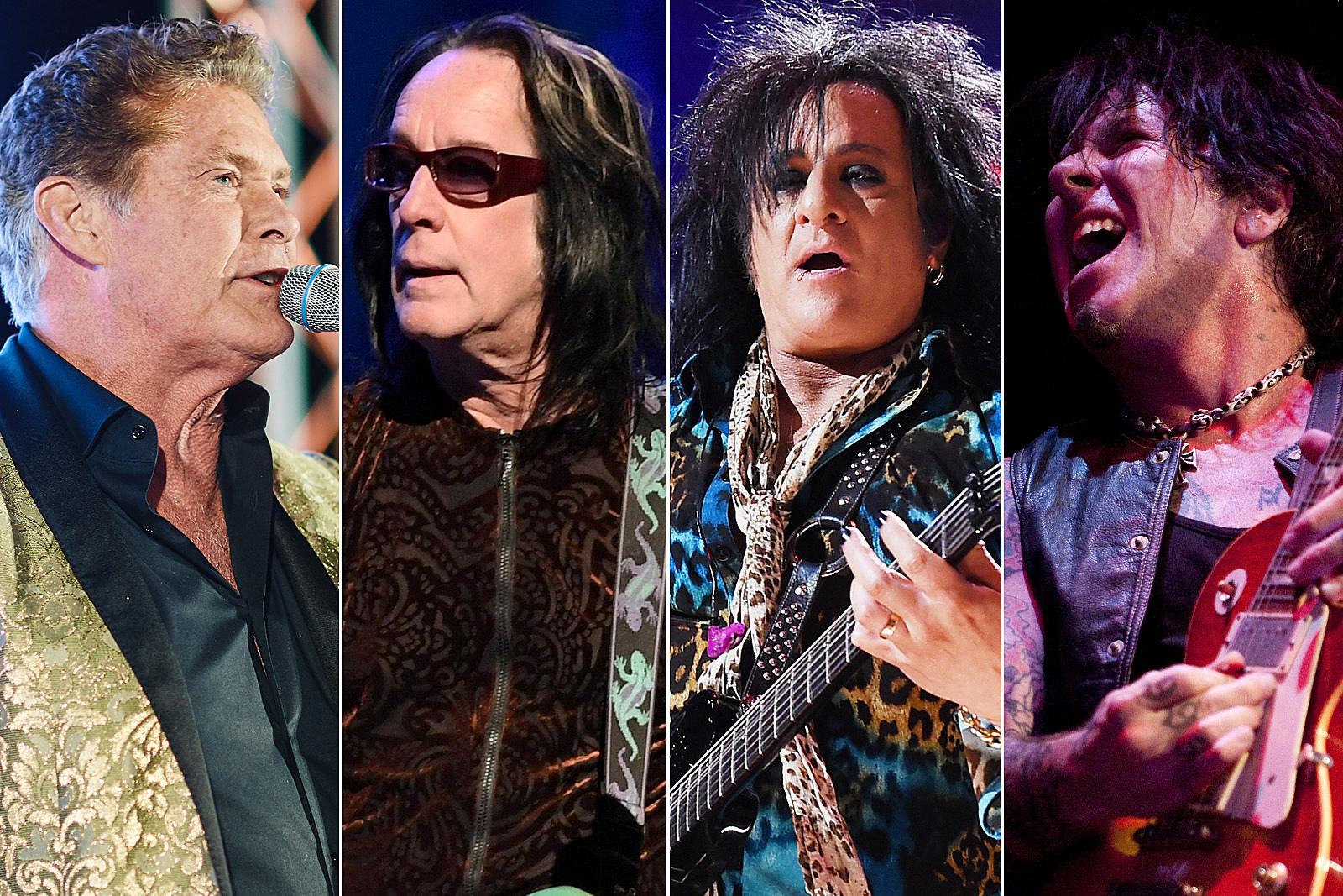 Todd Rundgren, Steve Stevens, Tracii Guns Appear on New David Hasselhoff Album