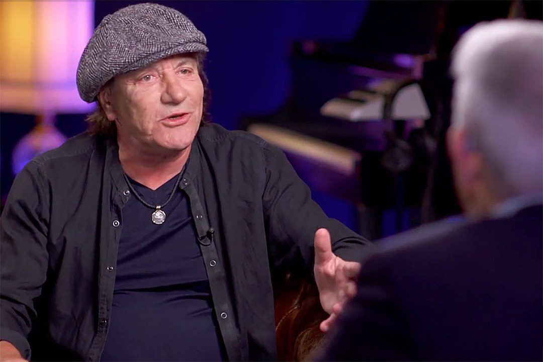 Brian Johnson Discusses Writer's Block on His First AC/DC Album