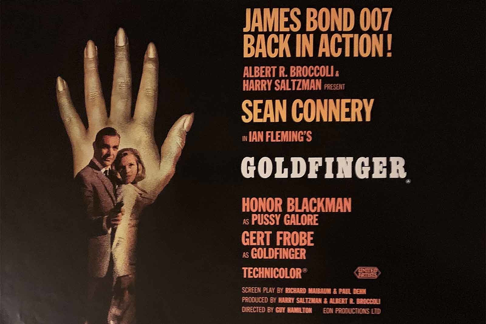 55 Years Ago: 'Goldfinger' Helps Define the James Bond Film
