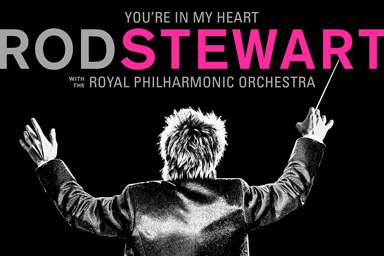 Rod Stewart Announces Orchestral Album 'You're in My Heart'