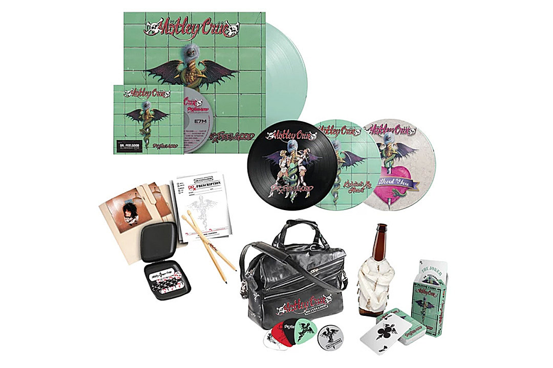 Motley Crue Announce 'Dr. Feelgood' 30th-Anniversary Edition