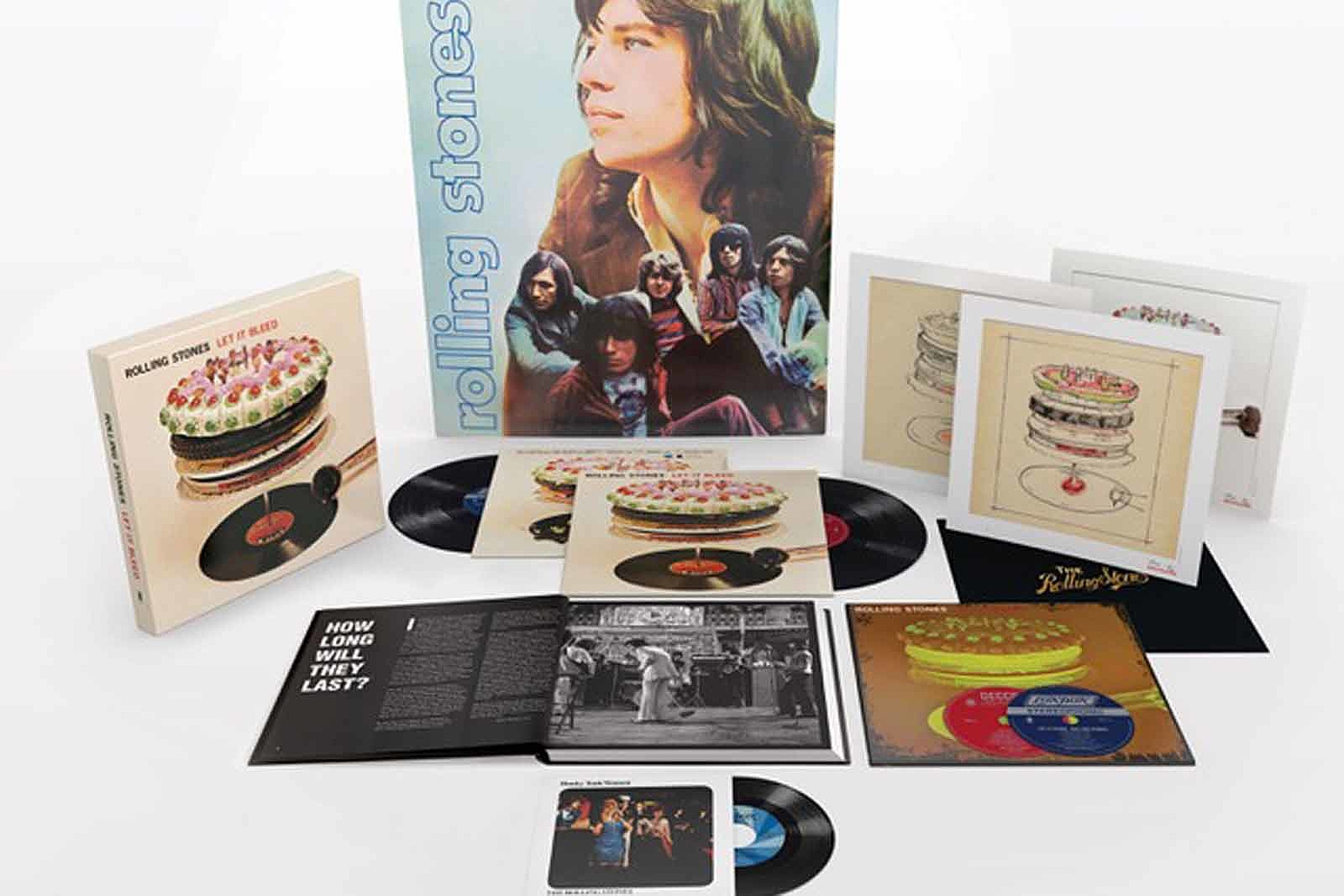 Rolling Stones Announce 'Let It Bleed' 50th-Anniversary Edition