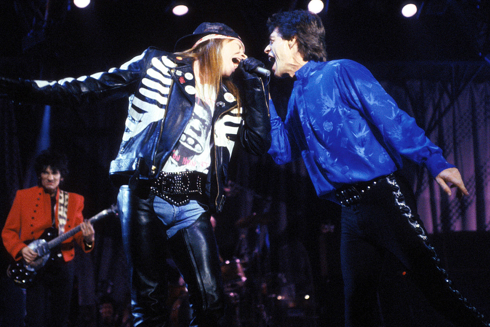 30 Years Ago: Chaos Reigns as Guns N' Roses Open for the Rolling Stones