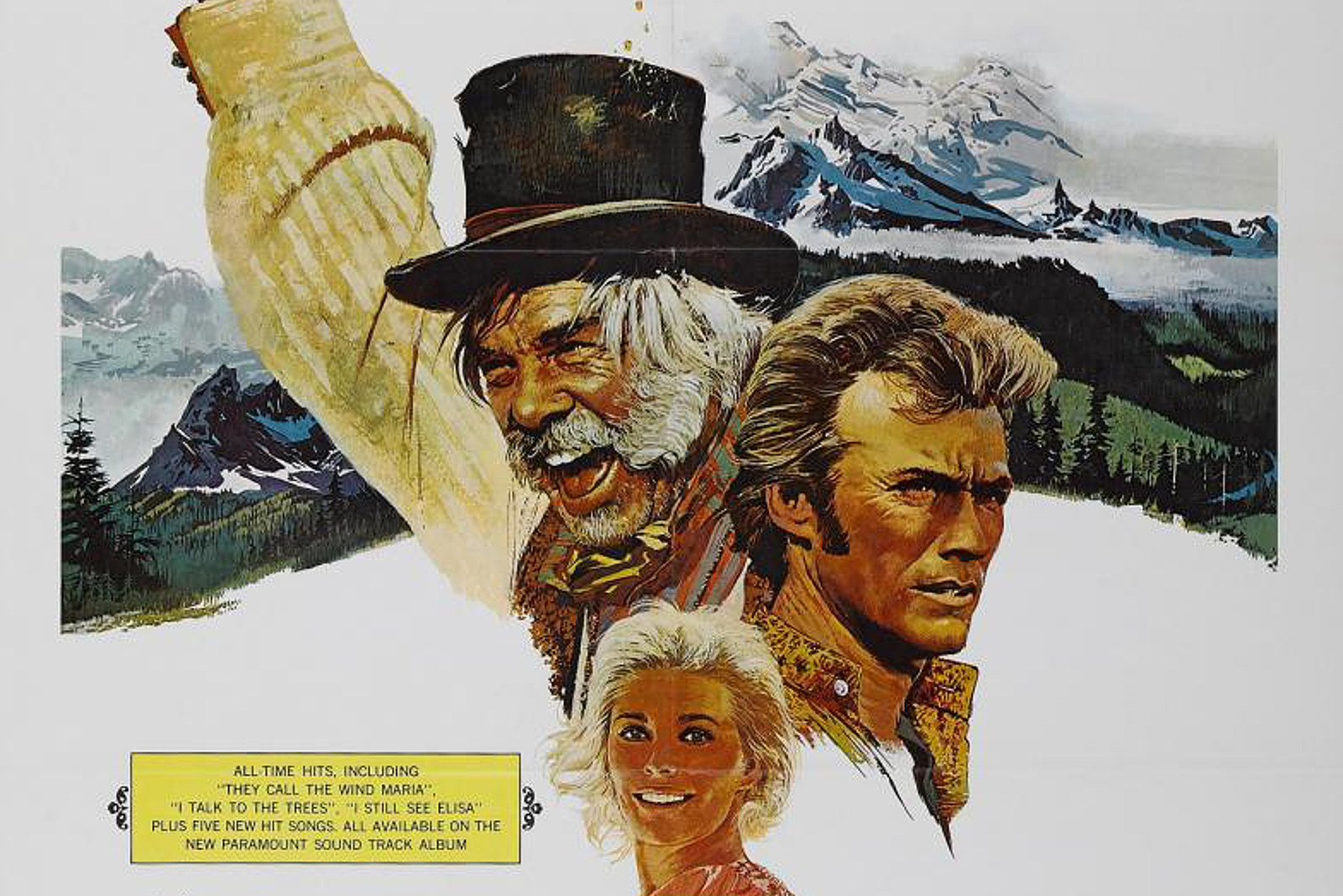 50 Years Ago: Clint Eastwood Gets Musical in 'Paint Your Wagon'