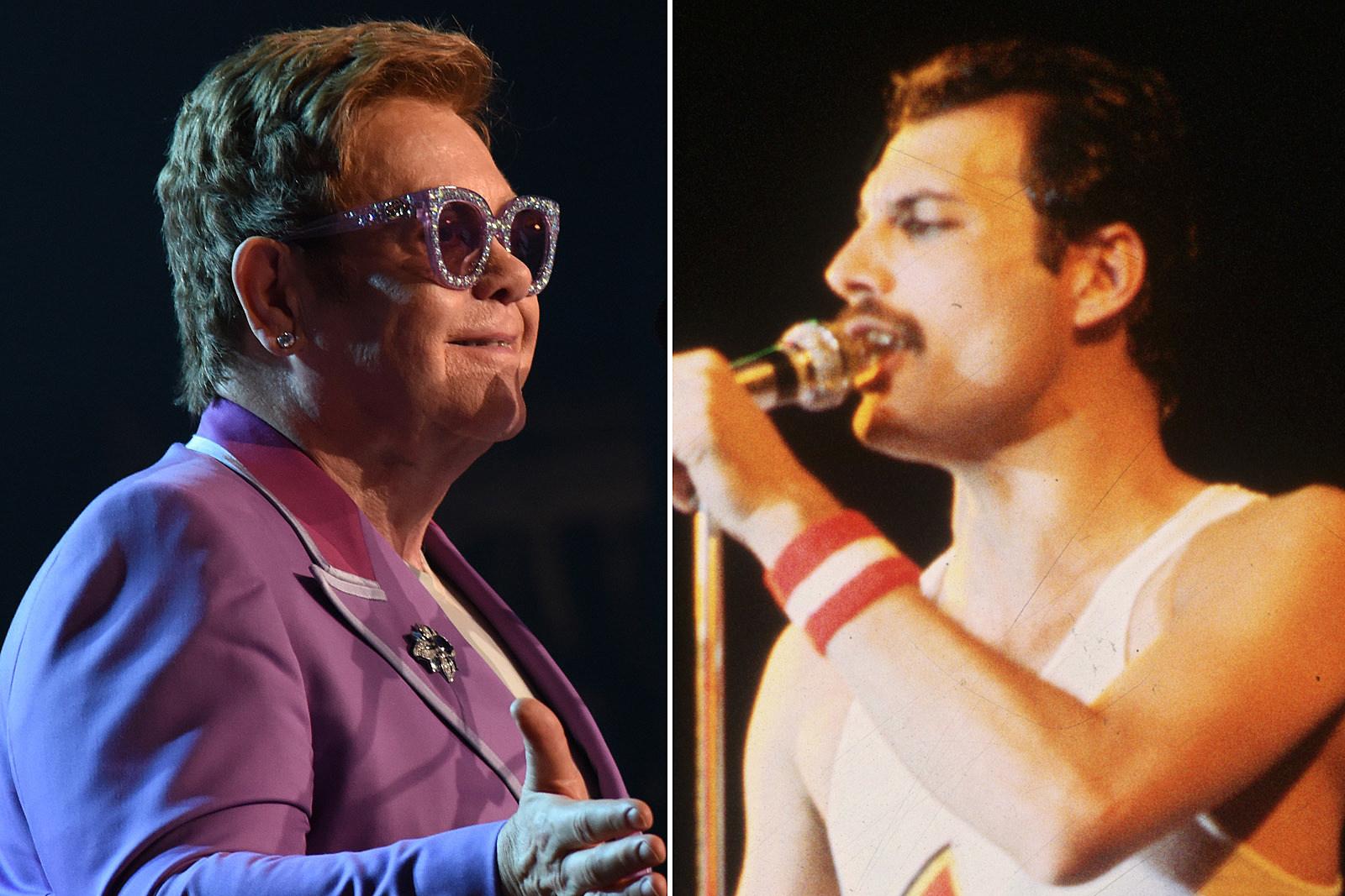 How Freddie Mercury Teased Elton John Backstage at Live Aid