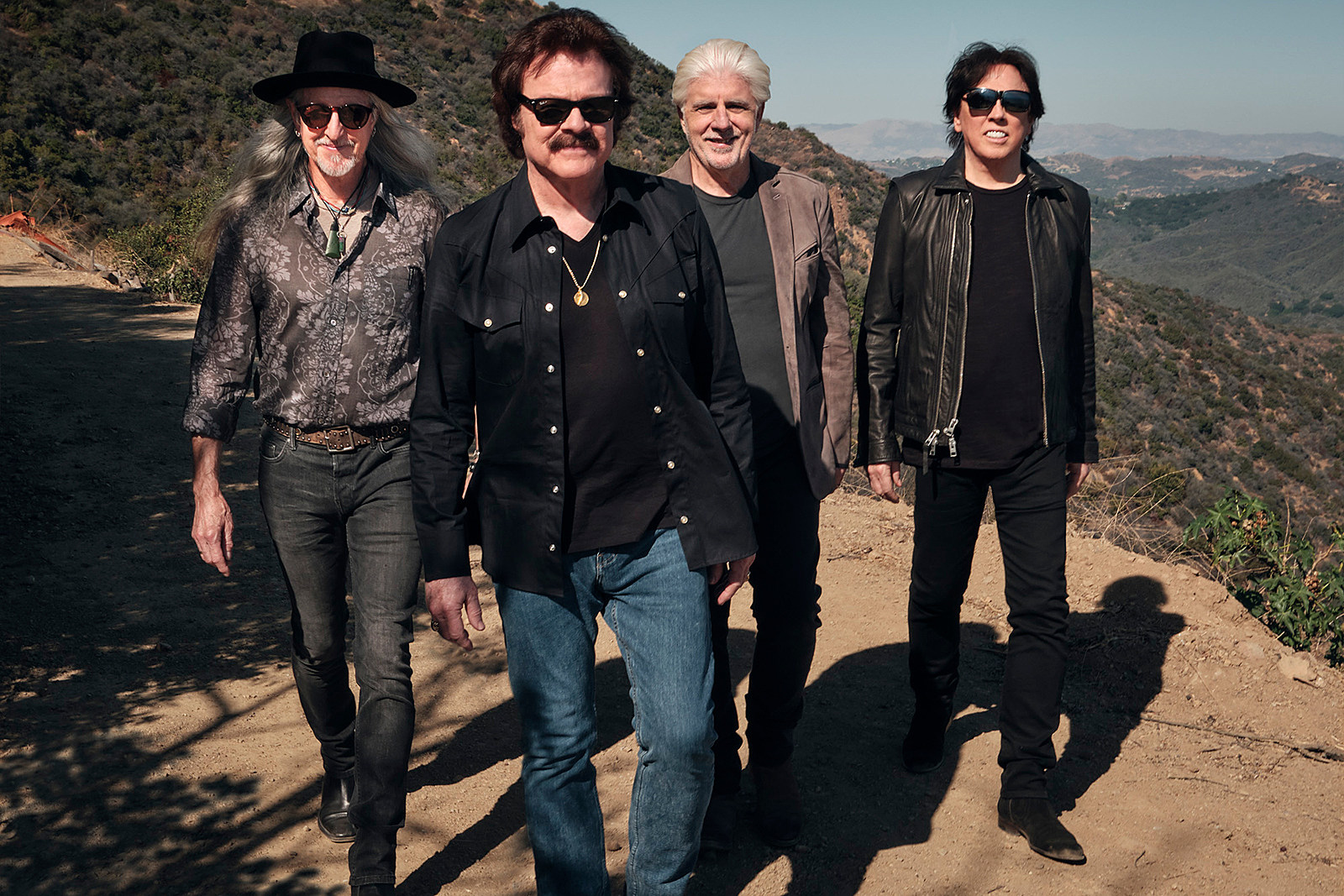 Behind the Scenes at the Doobie Brothers' Reunion Photo Shoot