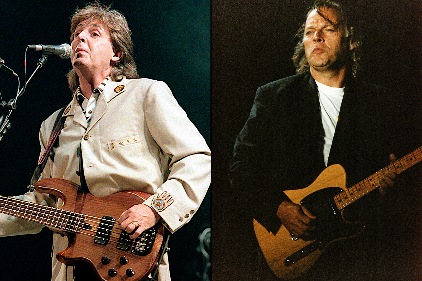 Pink Floyd's Battle With Paul McCartney at Knebworth