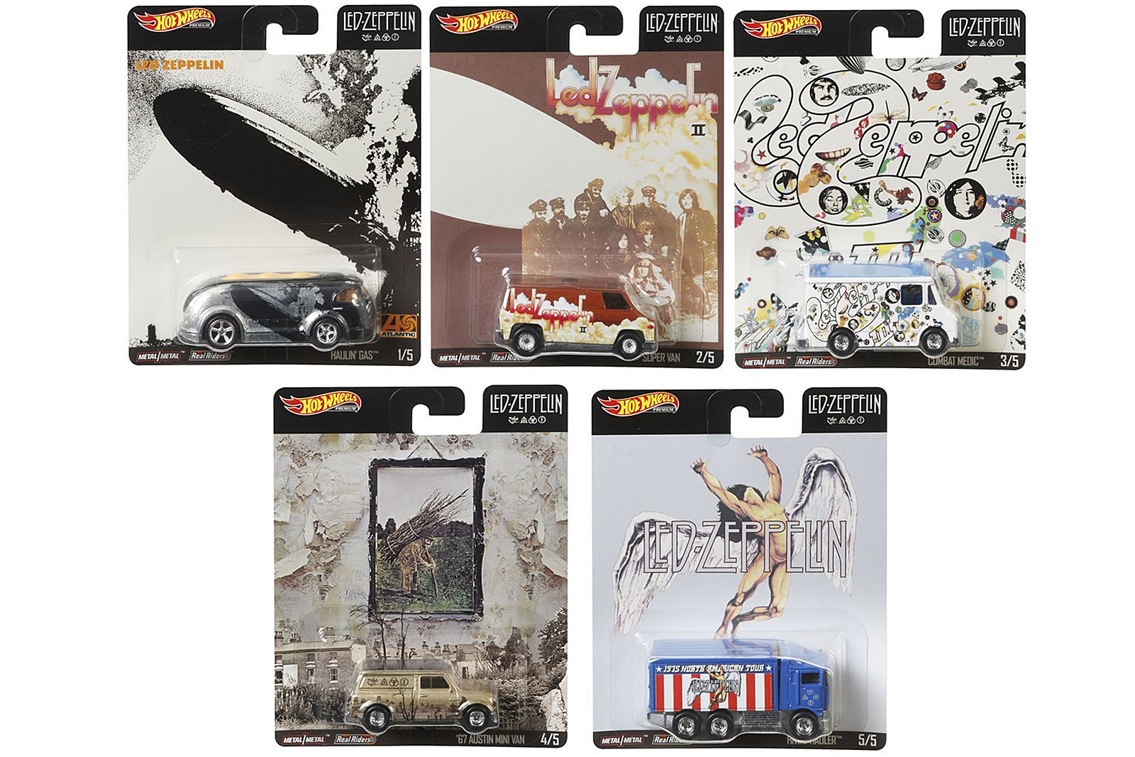 Led Zeppelin Hot Wheels Car Collection Announced