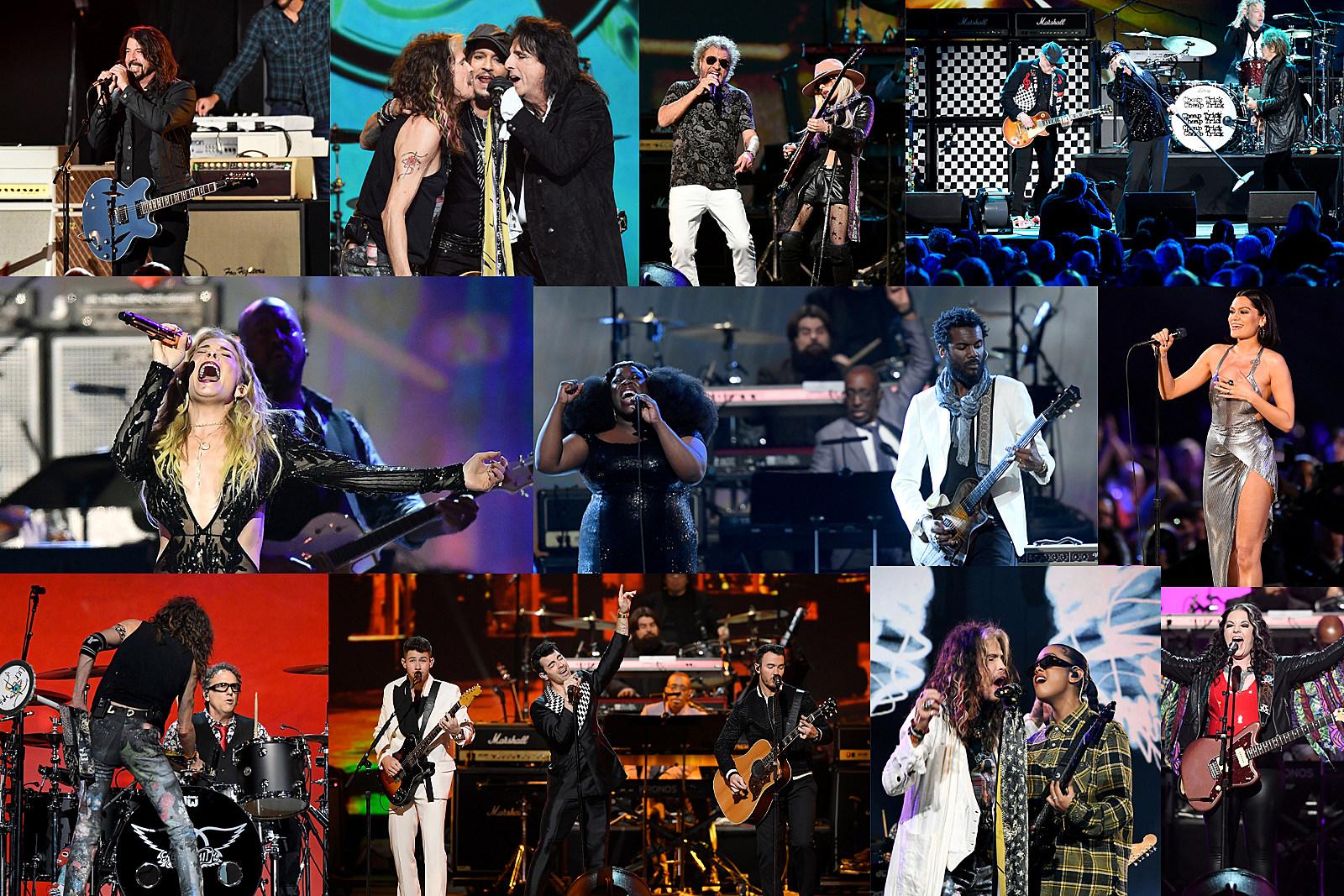Watch Sammy Hagar, Alice Cooper Play Aerosmith Songs at MusiCares