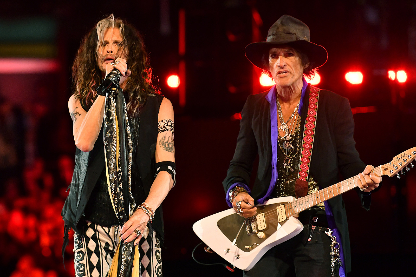 Aerosmith Deliver Two-Song Grammy Performance