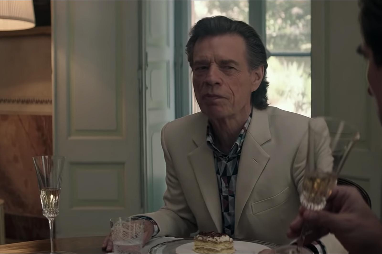 Watch Mick Jagger in 'The Burnt Orange Heresy' Trailer