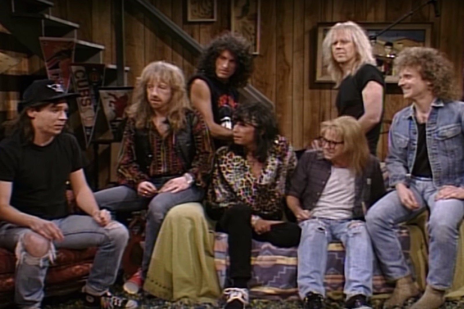 30 Years Ago: Aerosmith Party On as Guests on 'Wayne's World'