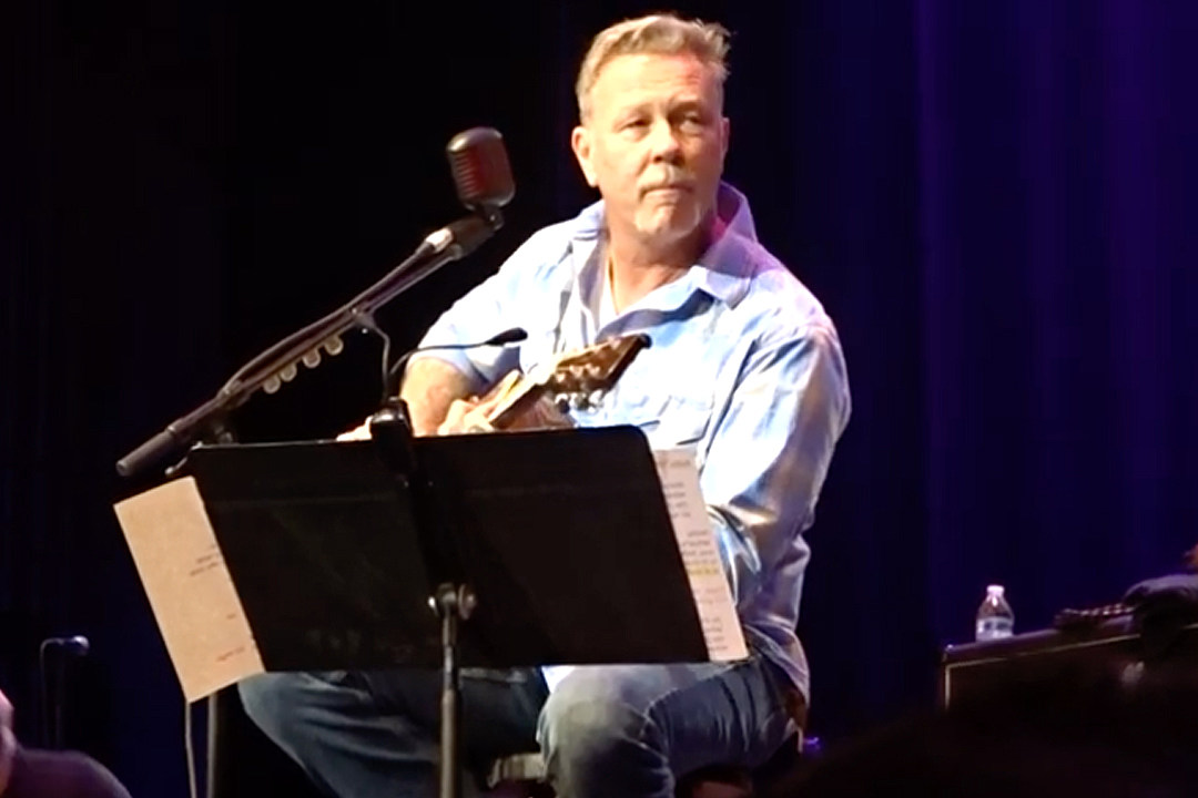 Watch James Hetfield Sing 'Baby Hold On' at Eddie Money Tribute Show