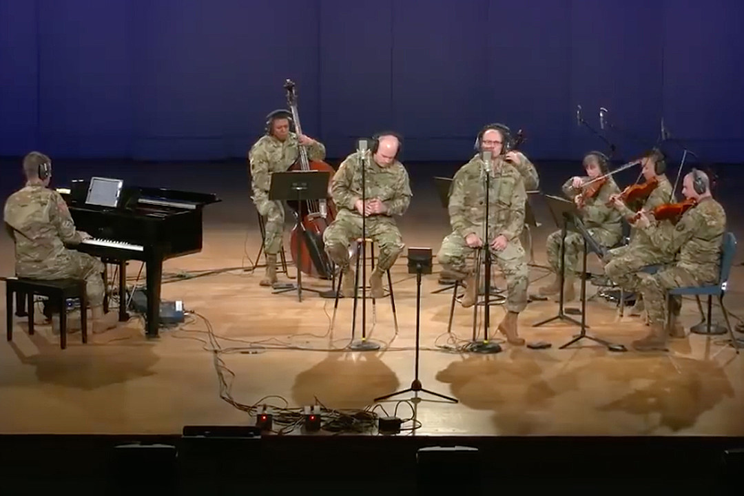 Watch U.S. Army Band Cover Rush's 'Time Stand Still'