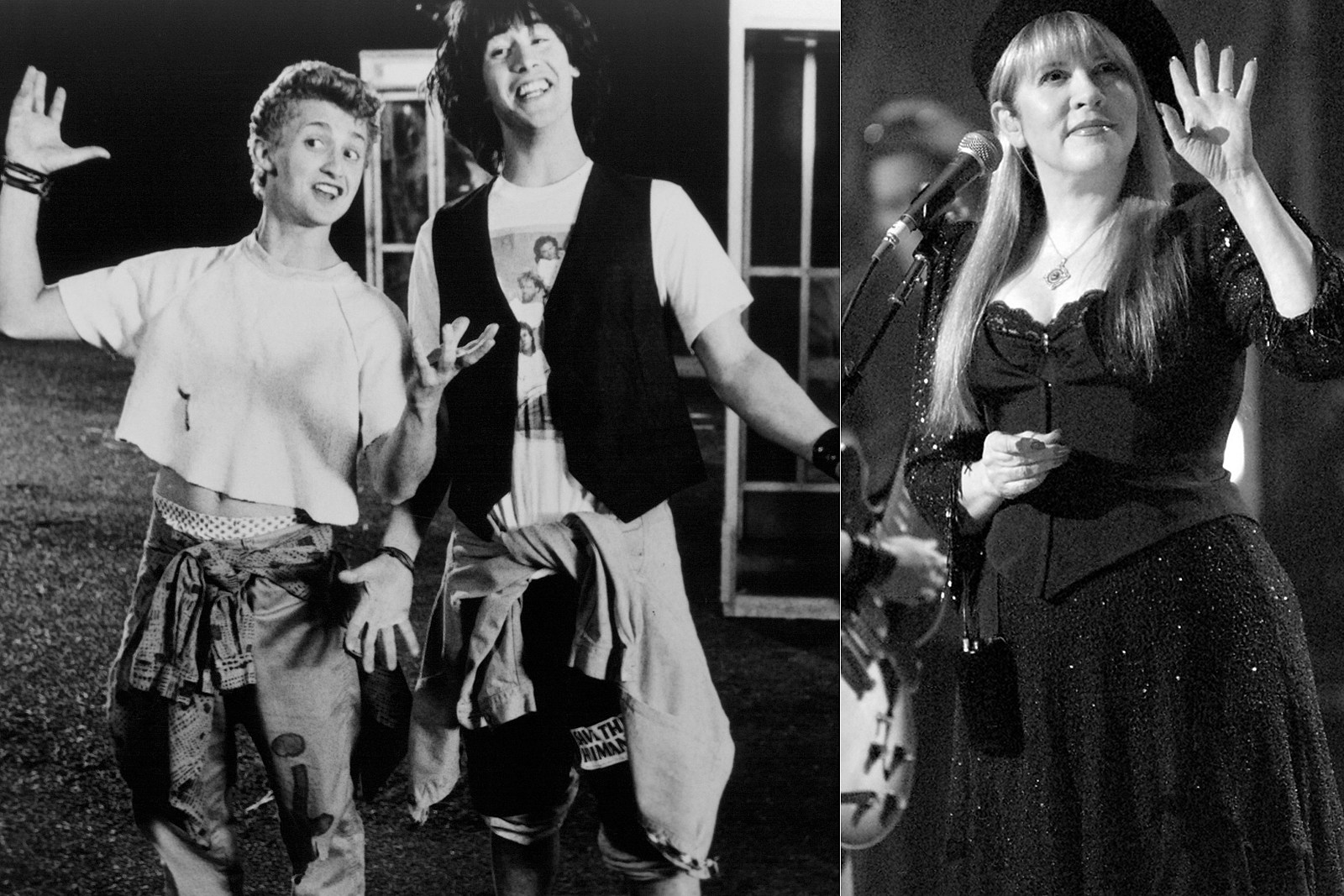 How Bill and Ted Perfected Their Dancing at Stevie Nicks' Ranch