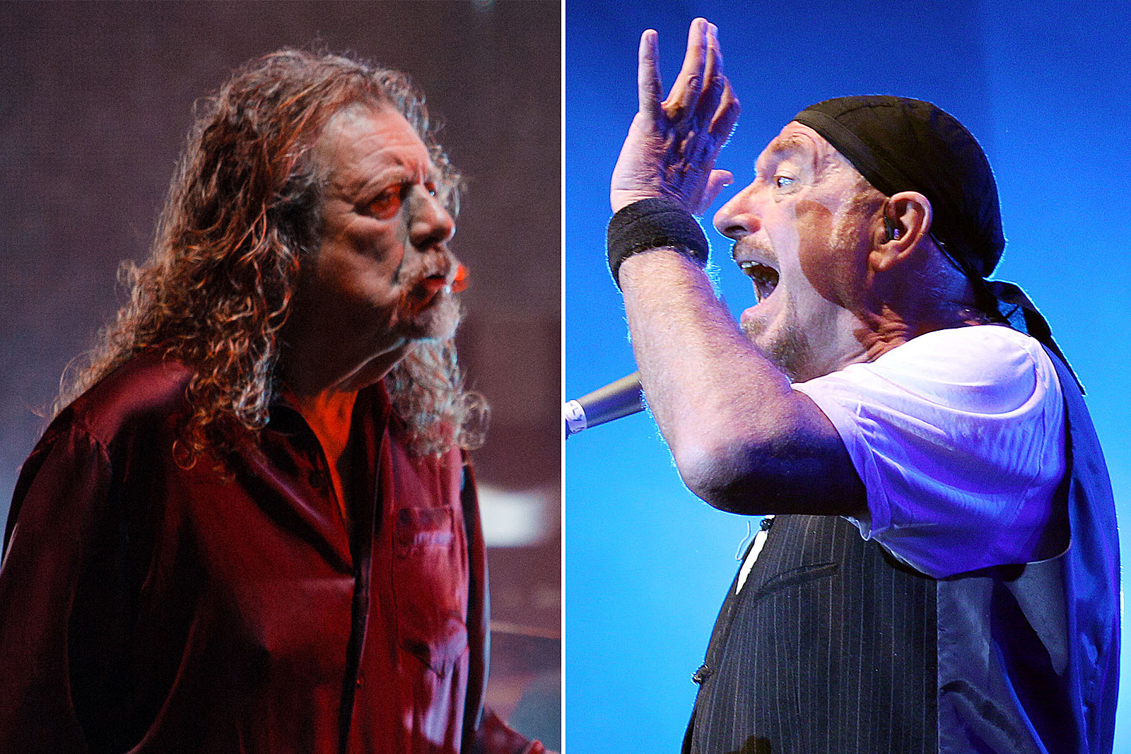 When Robert Plant and Ian Anderson Settled Feud They Never Had