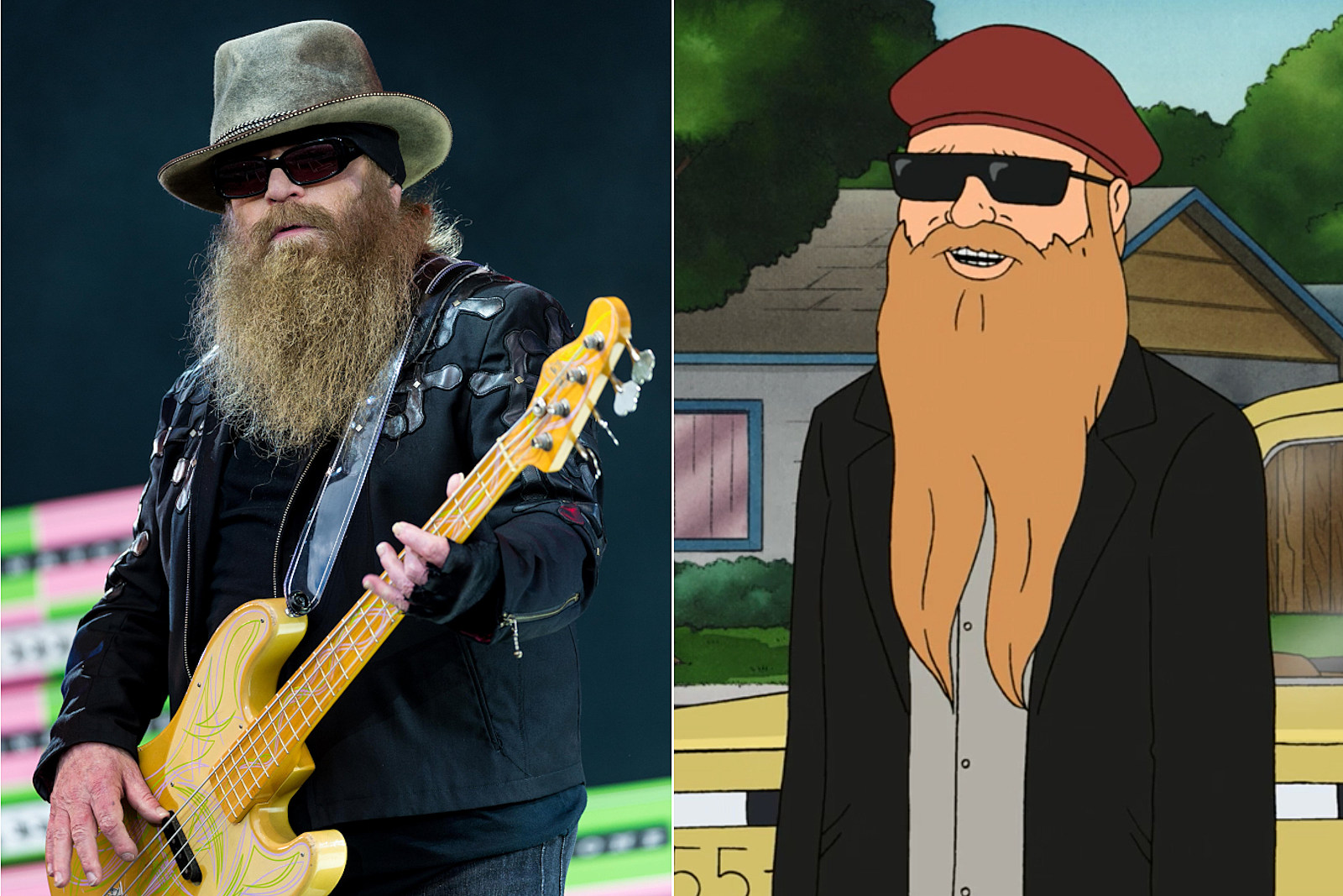 How ZZ Top's Dusty Hill Joined the 'King of the Hill' Family