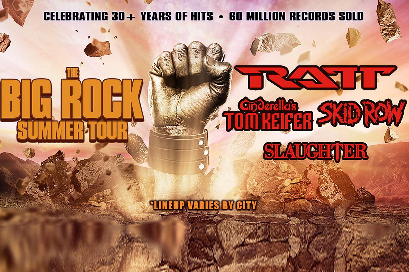 Ratt, Skid Row, Slaughter and Tom Keifer Announce Tour
