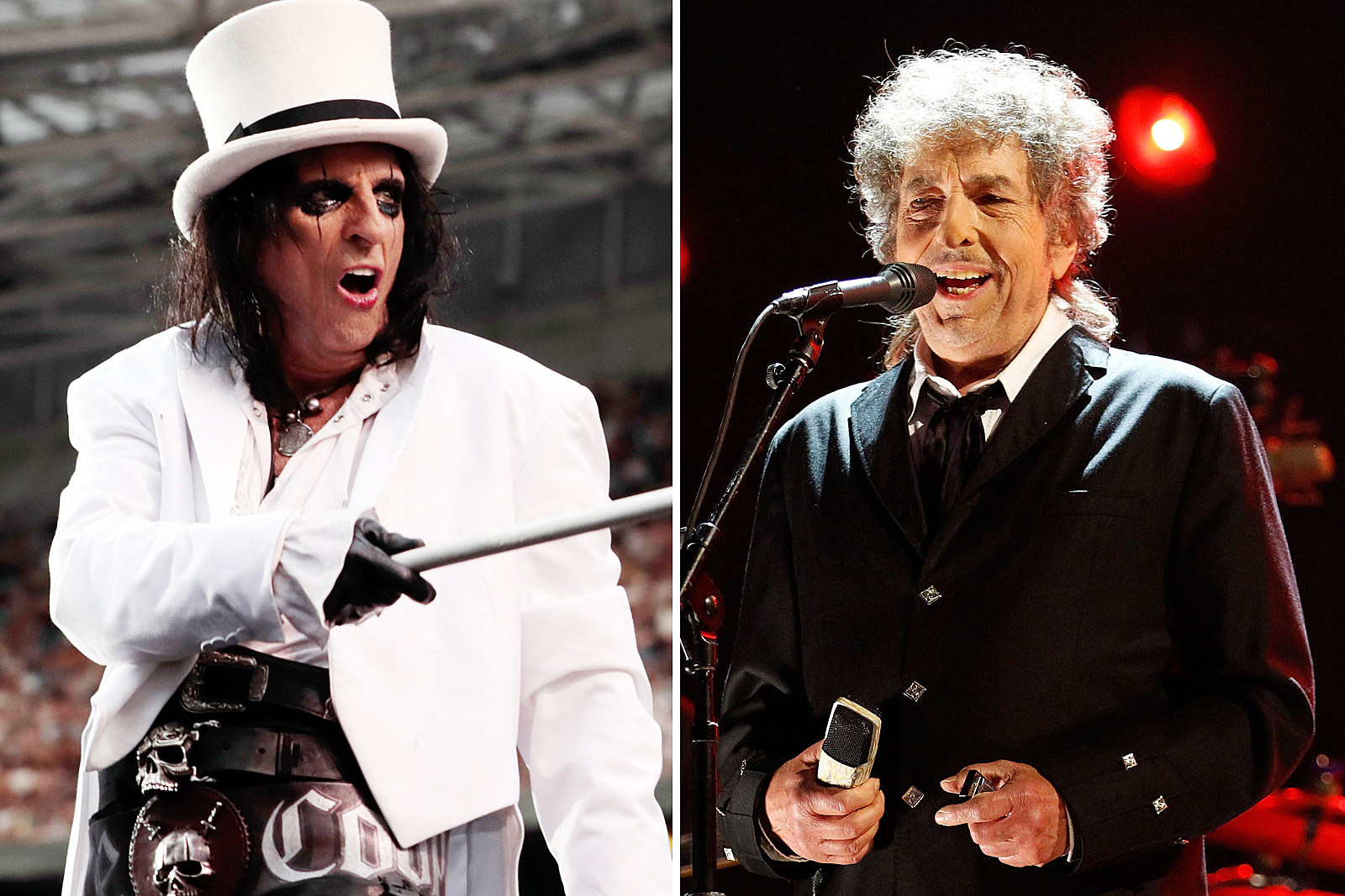 The Question Alice Cooper Wants to Ask Bob Dylan
