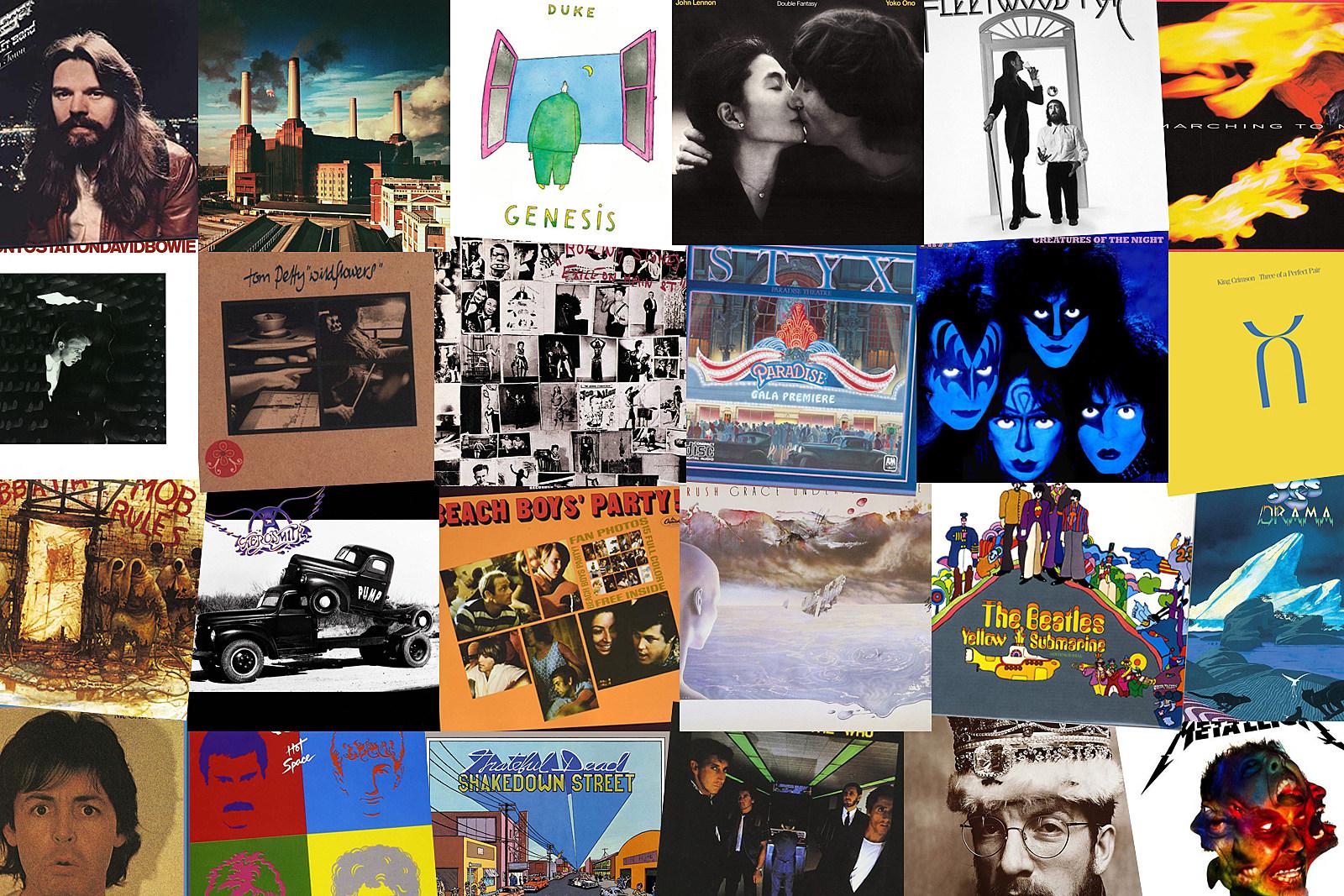 Rock's 40 Best 10th Albums