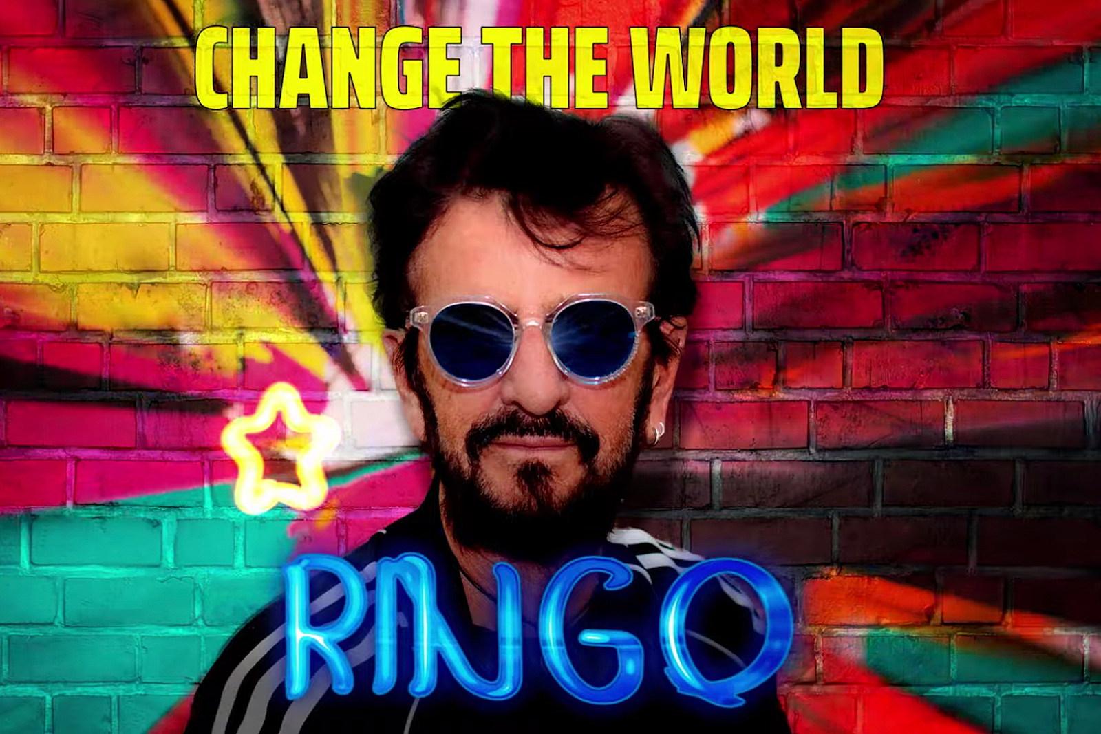 Ringo Starr Announces New EP, 'Change the World'